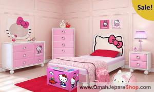 Kamar Set Anak Karakter Hello Kitty