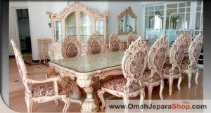 Set Kursi Makan Mewah Minerva