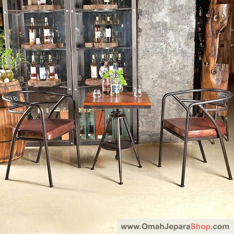 Kursi Cafe Besi Vintage