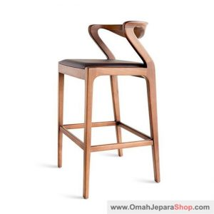 Kursi Bar Stool Sandaran Industrial