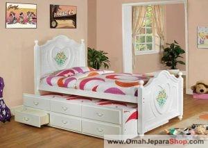 Tempat Tidur Anak Sorong Lukisan