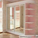 Lemari Perempuan Minimalis Pink