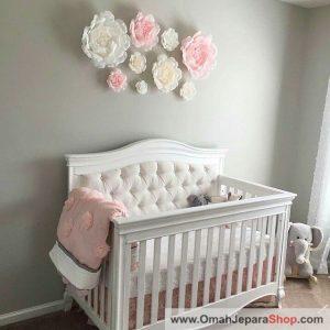 Ranjang Bayi Mewah Warna Putih