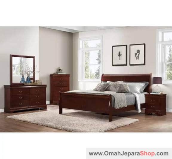 Set Kamar Tidur Minimalis Ghafrena