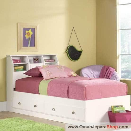 Tempat Tidur Anak Single Modern