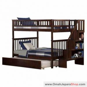 Tempat Tidur Anak Tingkat Model Rak