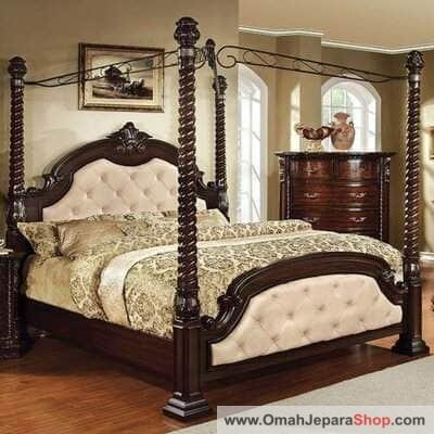 Tempat Tidur Bropwer Klasik